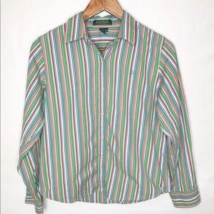 Ralph Lauren striped top. Lauren Ralph Lauren